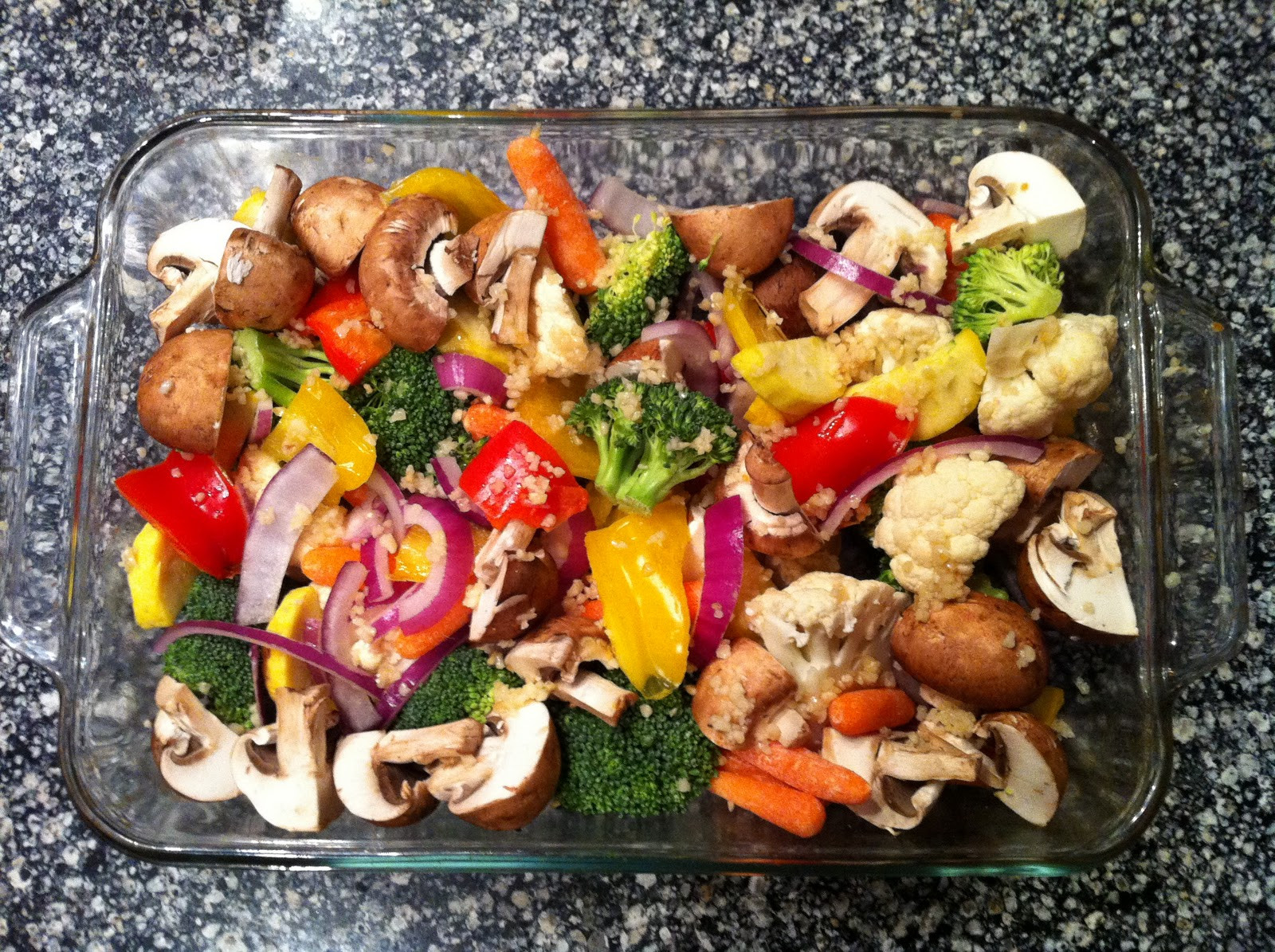 Low Carb Roasted Vegetables  Garlic Rosemary Oven Roasted Ve ables with Parmesan