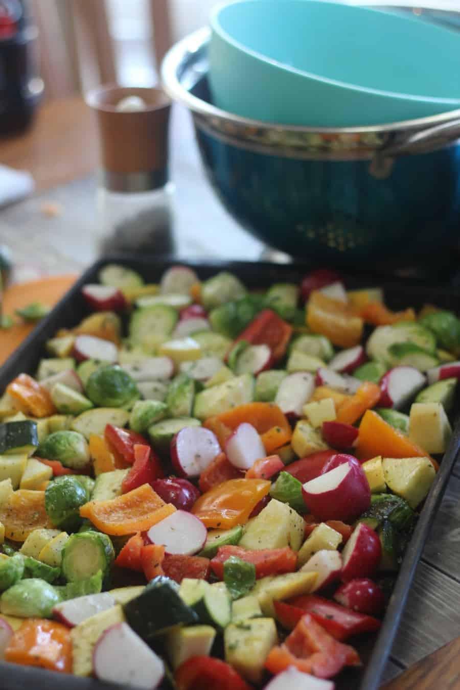 Low Carb Roasted Vegetables  Sheet Pan Roasted Low Carb Veggies