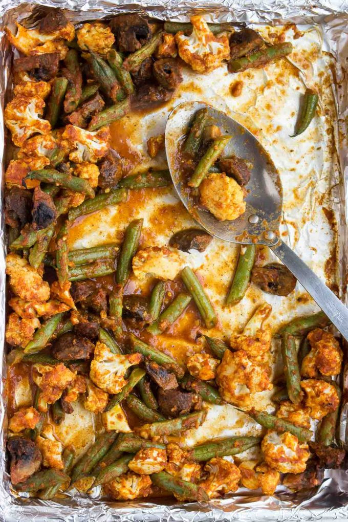 Low Carb Roasted Vegetables  Roasted Ve able Masala Low Carb Low Carb Maven
