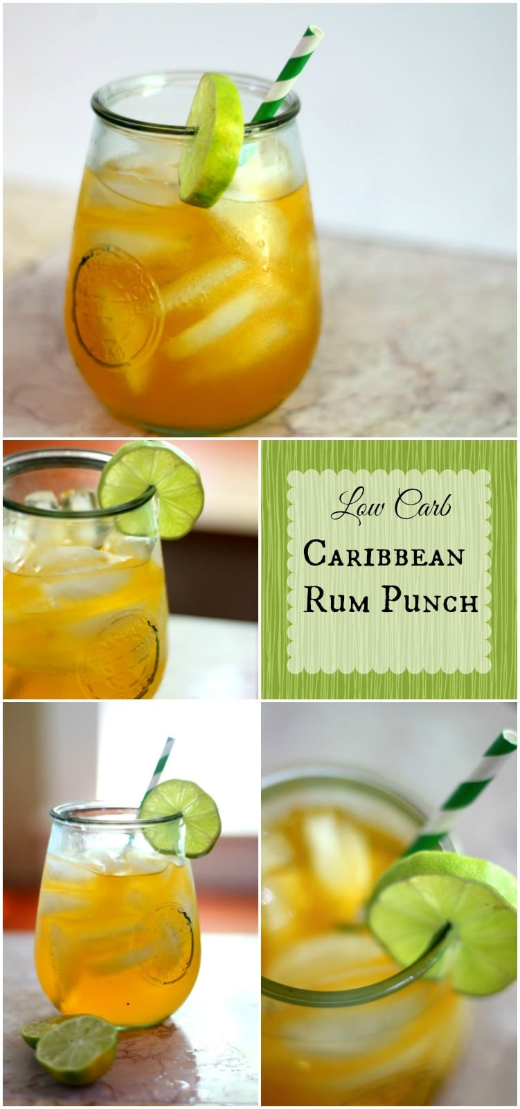 Low Carb Rum Drinks  Low Carb Caribbean Rum Punch lowcarb ology