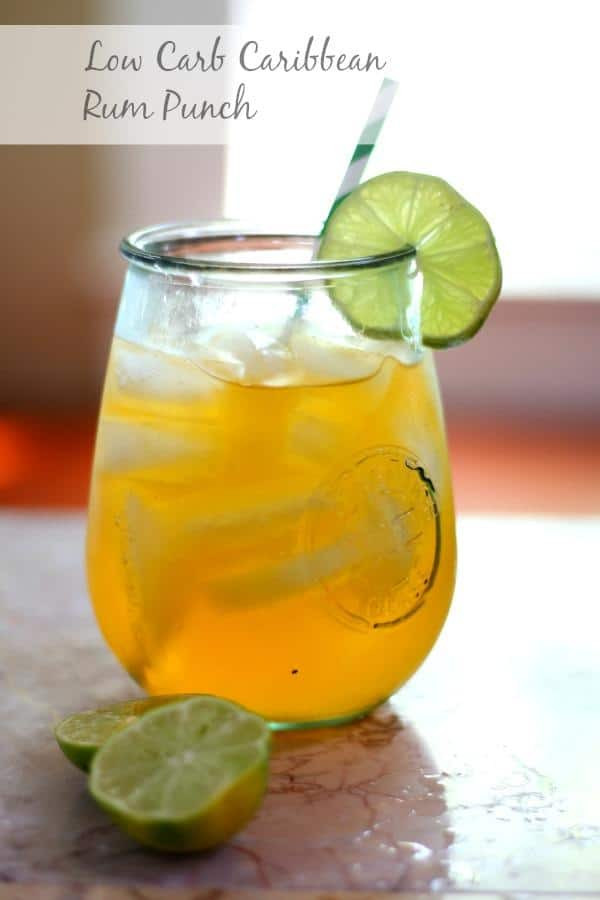 Low Carb Rum Drinks  Low Carb Caribbean Rum Punch Cocktail Recipe lowcarb ology