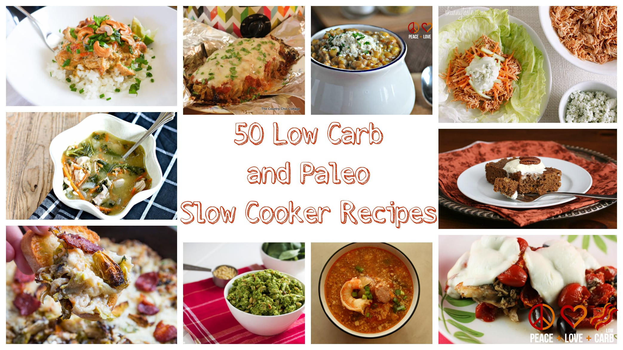 Low Carb Slow Cooker Recipes  50 Low Carb and Paleo Slow Cooker Recipes