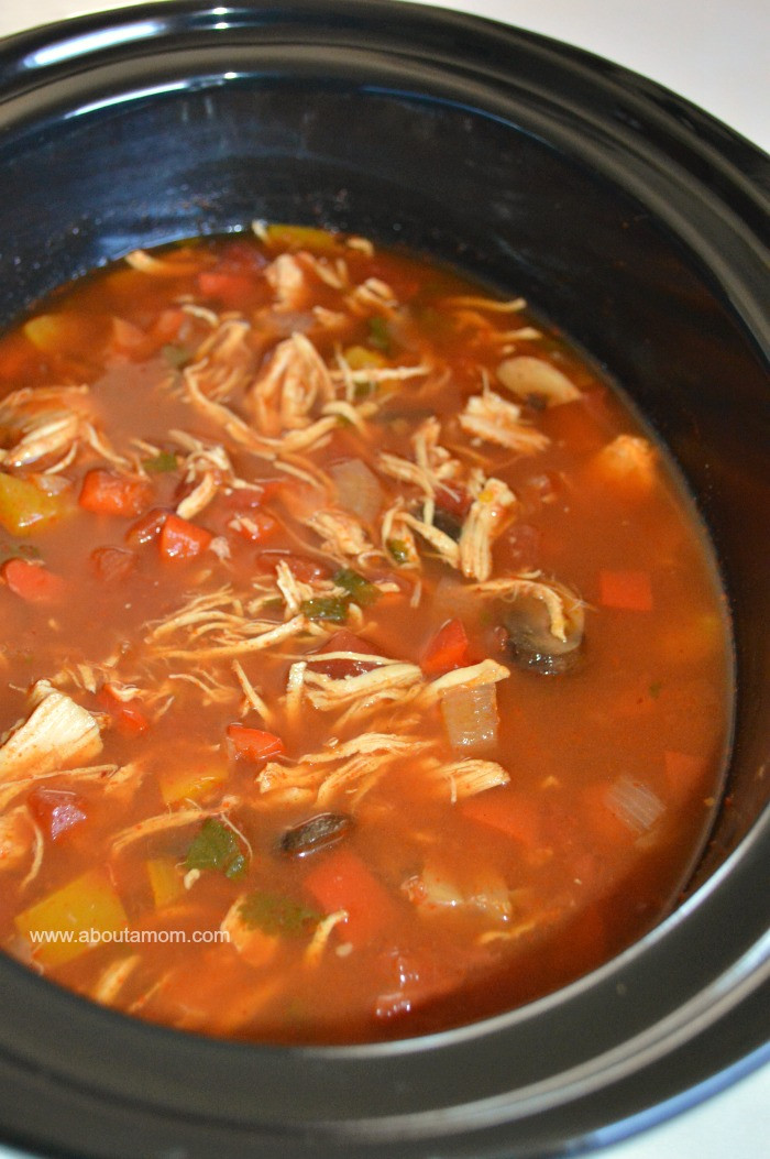 Low Carb Slow Cooker Recipes  Slow Cooker Chicken Fajita Soup Low Carb Recipe About