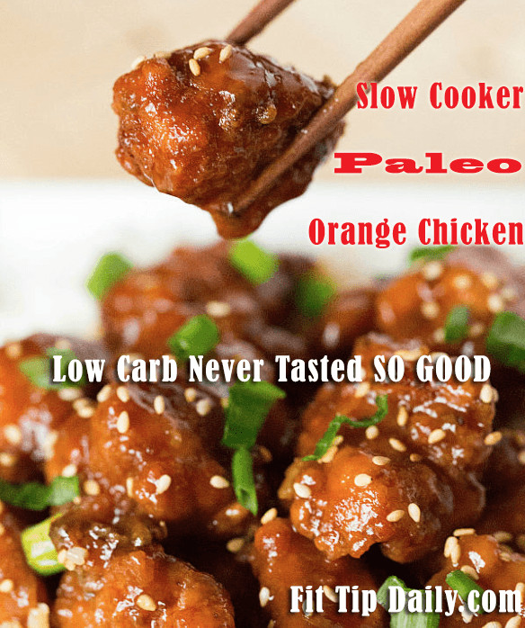 Low Carb Slow Cooker Recipes  Low Carb Recipe Monday Slow Cooker Paleo Sesame Chicken