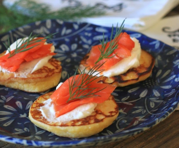 Low Carb Smoked Salmon Recipes  The Low Carb Diabetic Coconut Flour Blinis Just Add
