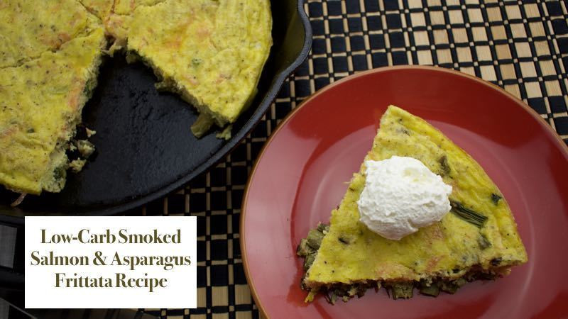 Low Carb Smoked Salmon Recipes  Low Carb Smoked Salmon & Asparagus Frittata Recipe from