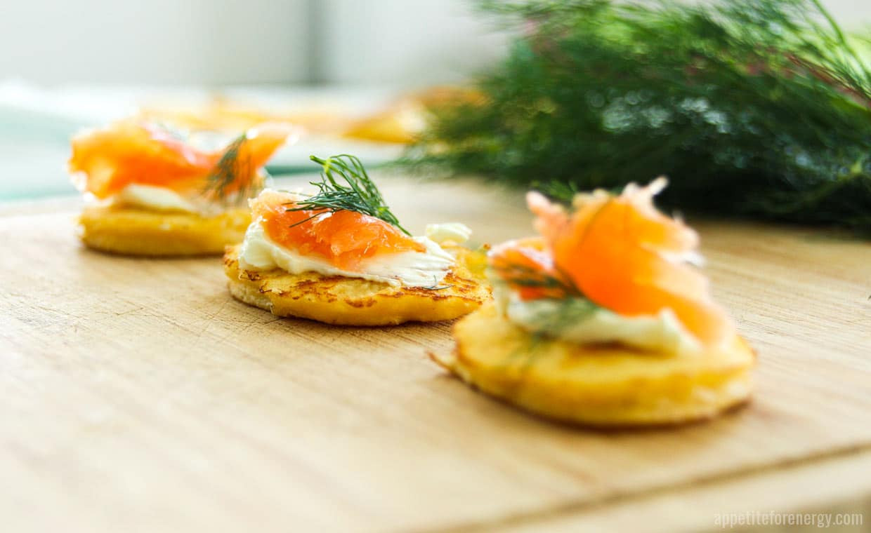Low Carb Smoked Salmon Recipes  Try These Low Carb Smoked Salmon Blinis Appetite For Energy