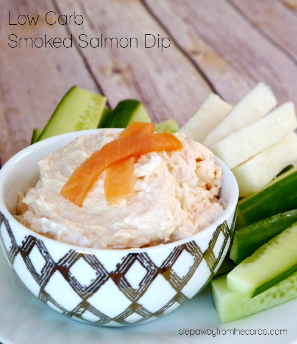 Low Carb Smoked Salmon Recipes  Low Carb Smoked Salmon Dip Step Away From The Carbs
