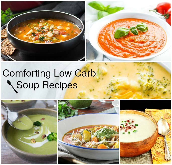 Low Carb Soups And Stews Recipes  forting Low Carb Soup Recipes