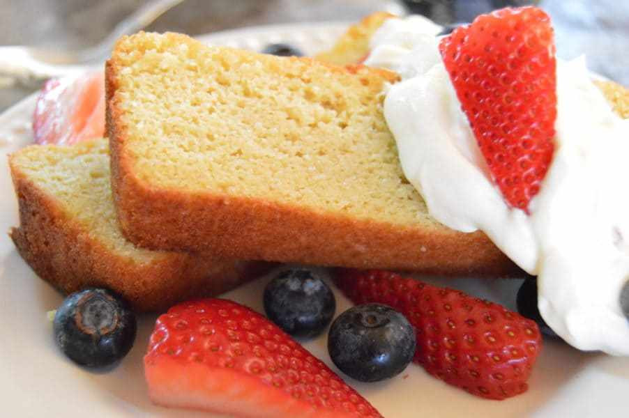 Low Carb Sour Cream Pound Cake  Almond Flour Sour Cream Pound Cake Tales of a Texas