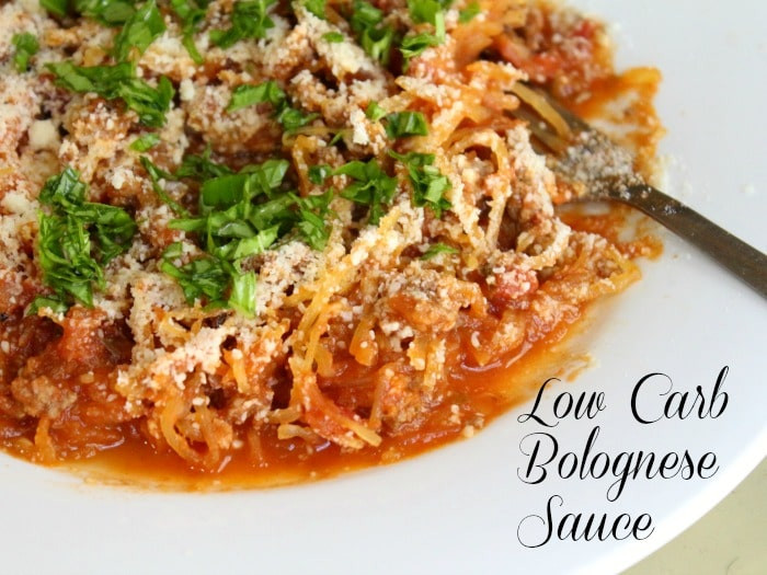 Low Carb Spaghetti Sauce Recipe  italian bolognese sauce recipe