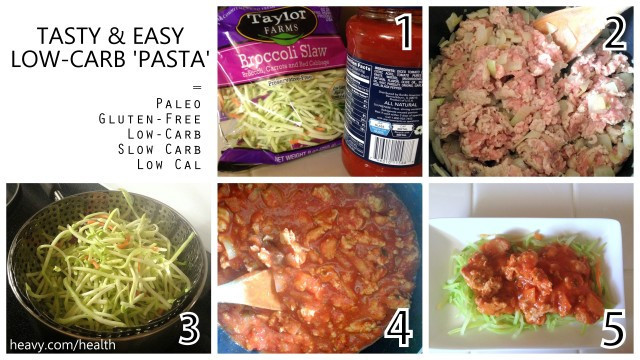 Low Carb Spaghetti Sauce Recipe  Easy Low Carb 'Pasta' Recipe with Turkey [RECIPE]