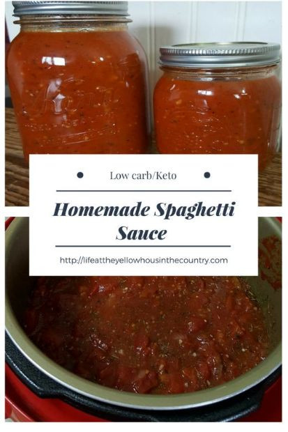 Low Carb Spaghetti Sauce Recipe  Instant Pot Low Carb Keto Spaghetti Sauce Recipe