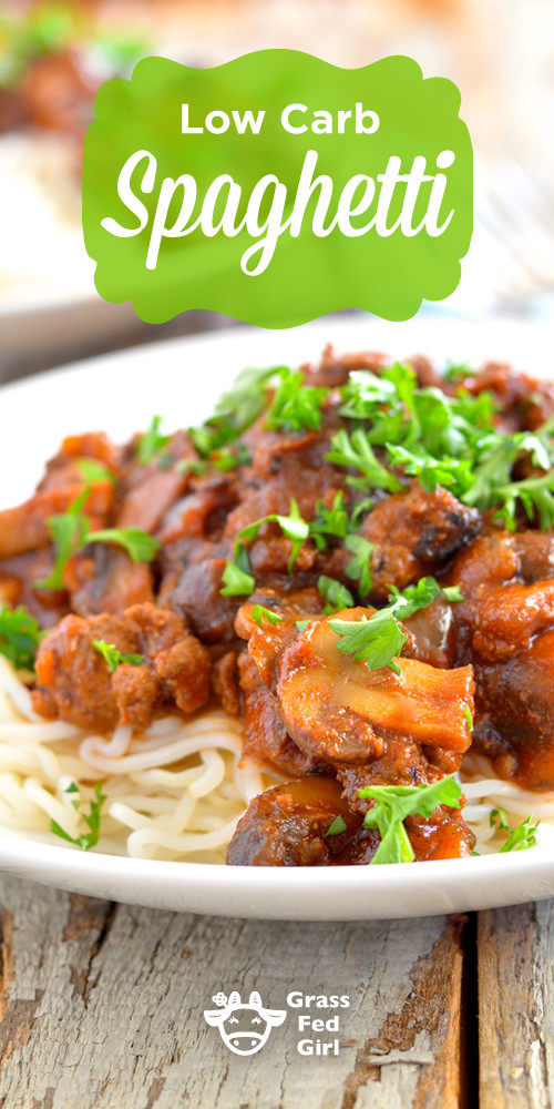 Low Carb Spaghetti Sauce Recipe  Low Carb Homemade Spaghetti Sauce Recipe