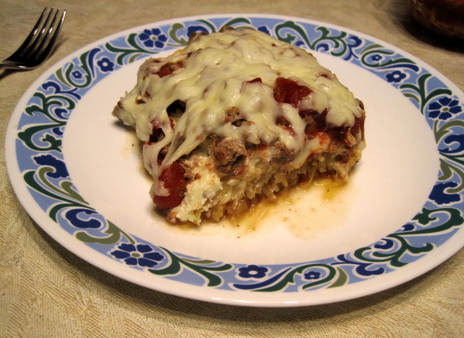 Low Carb Squash Recipes  Escape from Obesity Low Carb Spaghetti Squash Lasagna