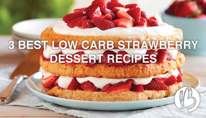 Low Carb Strawberry Dessert  Beyond Fit Mom