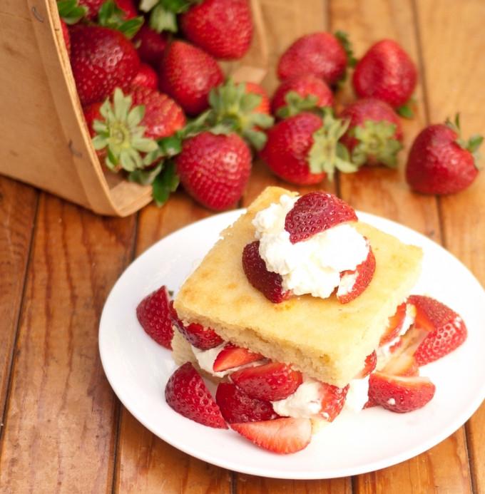 Low Carb Strawberry Dessert  Strawberry Shortcake Low Carb Gluten Free Sugar Free