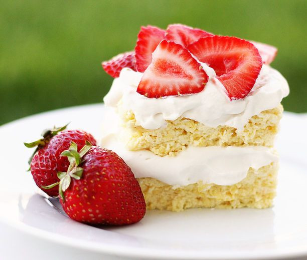 Low Carb Strawberry Dessert  Low carb Strawberry Shortcake Low carb mmm