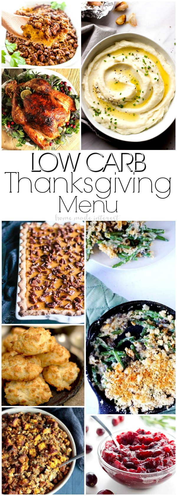 Low Carb Thanksgiving Side Dishes  Low Carb Recipes for Thanksgiving Home Made Interest