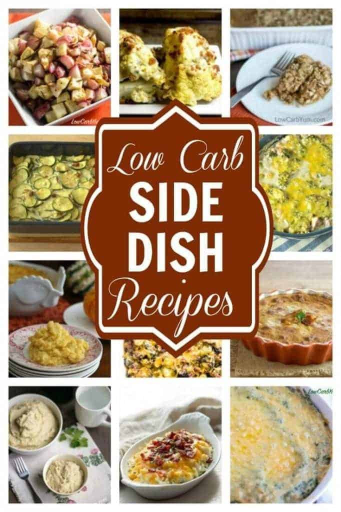 Low Carb Thanksgiving Side Dishes  Low Carb Side Dishes Perfect for any Meal