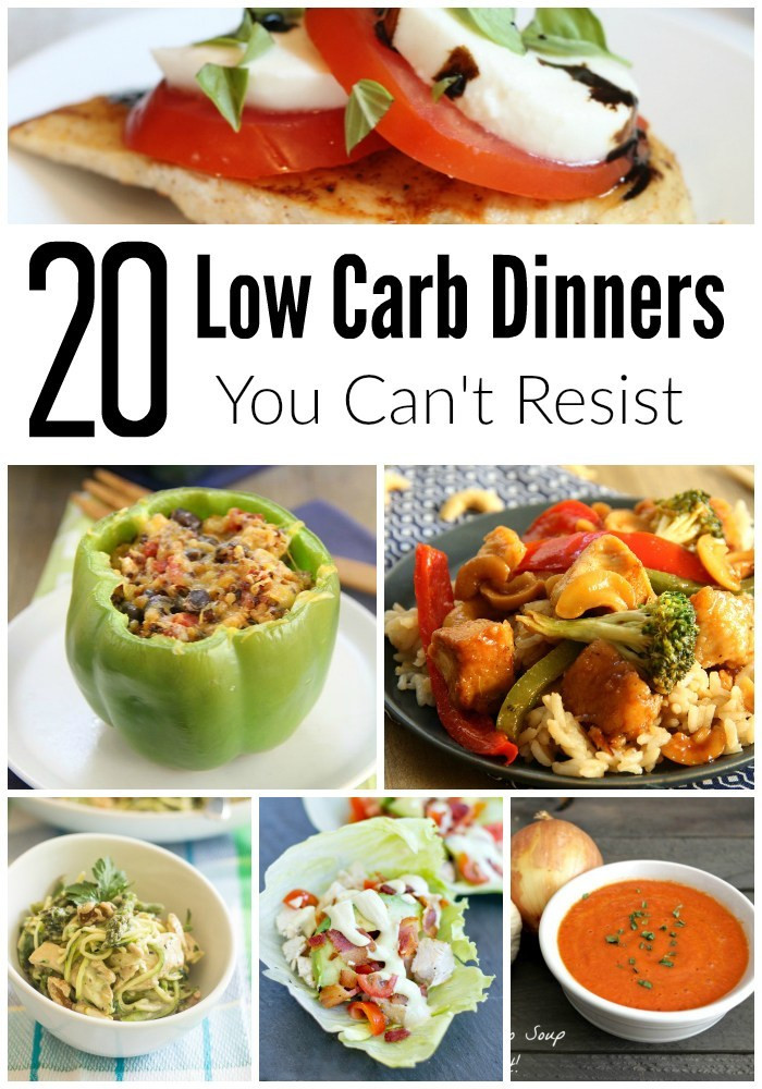 Low Carb Tv Dinners  Going Low Carb 20 Dinner Recipe Ideas Too Good To Resist