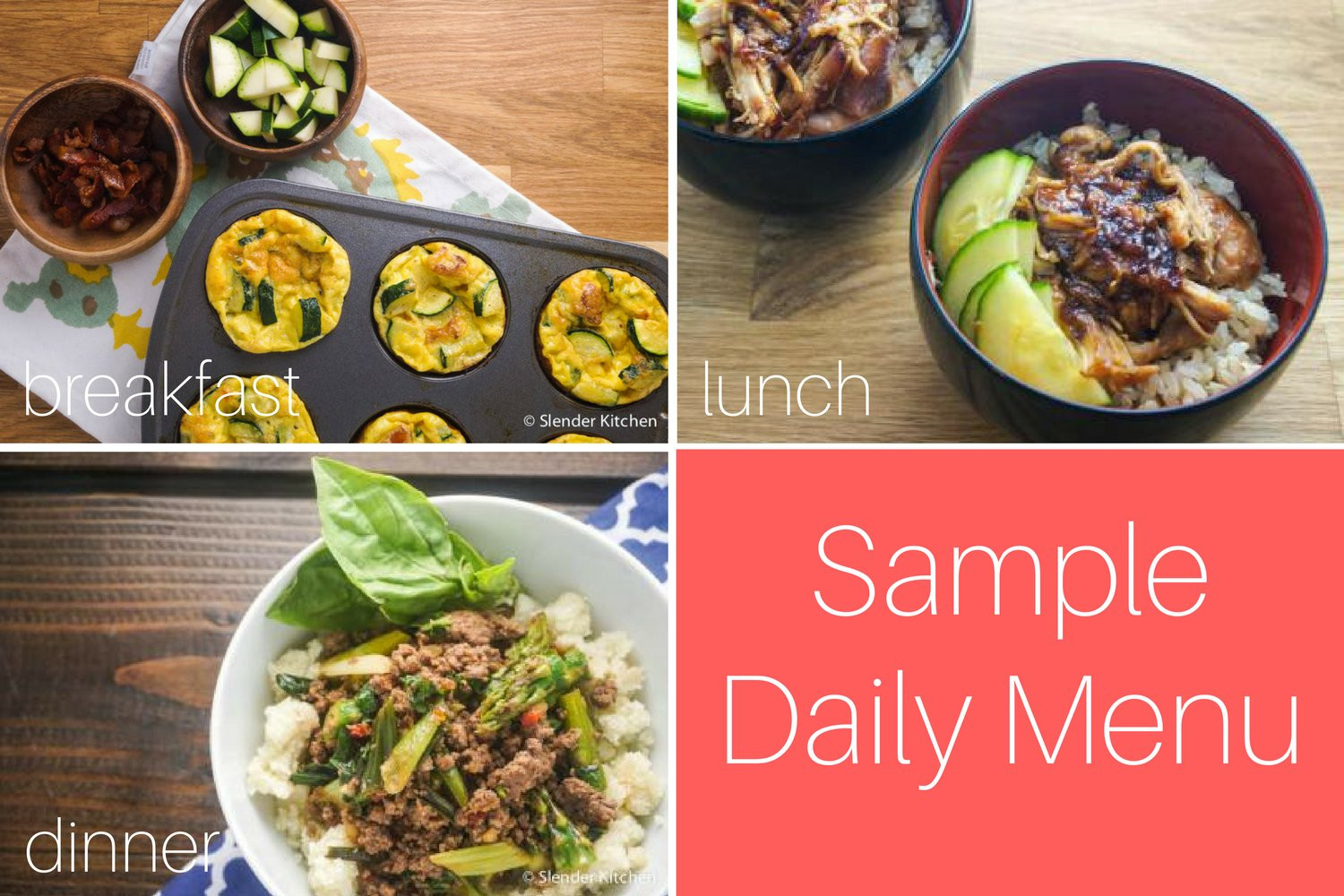 Low Carb Vegan Dinner  Sample Healthy Ve arian and Low Carb Meal Plan &