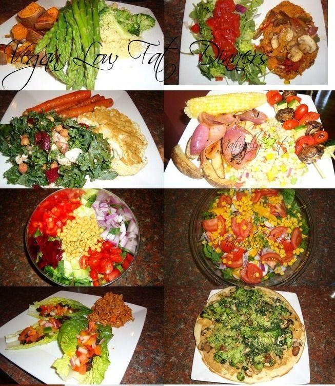 Low Carb Vegan Dinner  vegan high carb low fat dinners