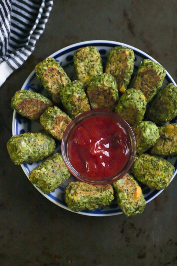 Low Carb Vegan Recipes  Low Carb Broccoli Tots Recipe Primavera Kitchen