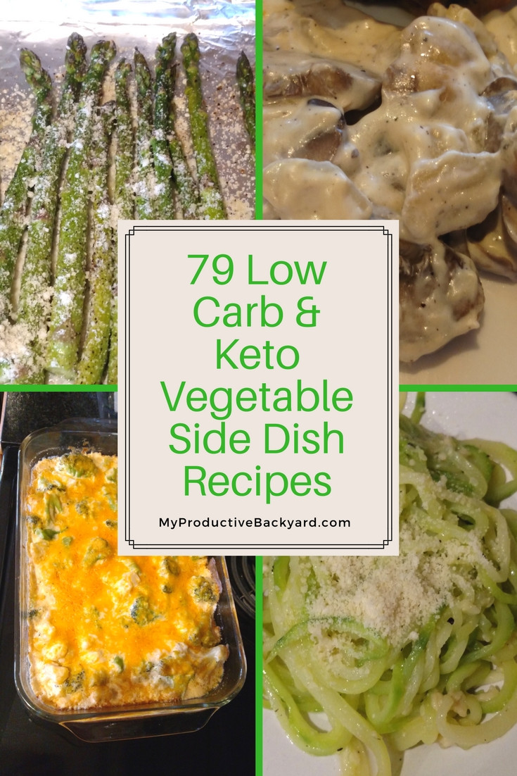 Low Carb Vegetable Side Dishes  79 Low Carb Keto Ve able Side Dish Recipes My