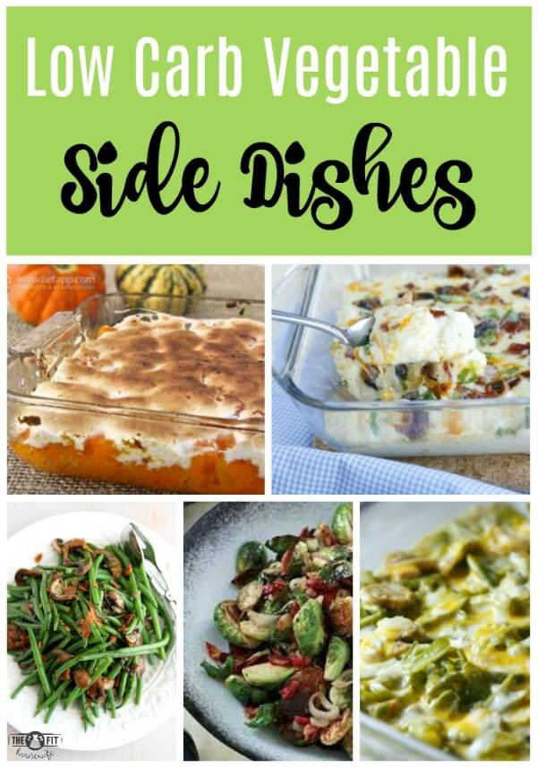 Low Carb Vegetable Side Dishes  Low Carb Thanksgiving Menu Ideas The Fit Housewife