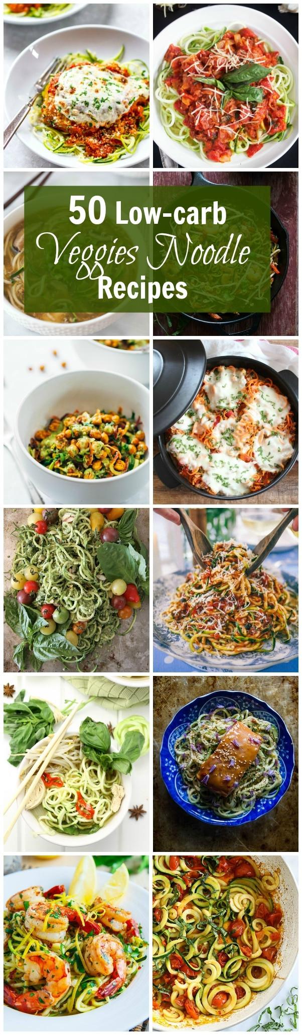 Low Carb Vegetables Recipes  50 Low Carb Veggies Noodle Recipes Primavera Kitchen