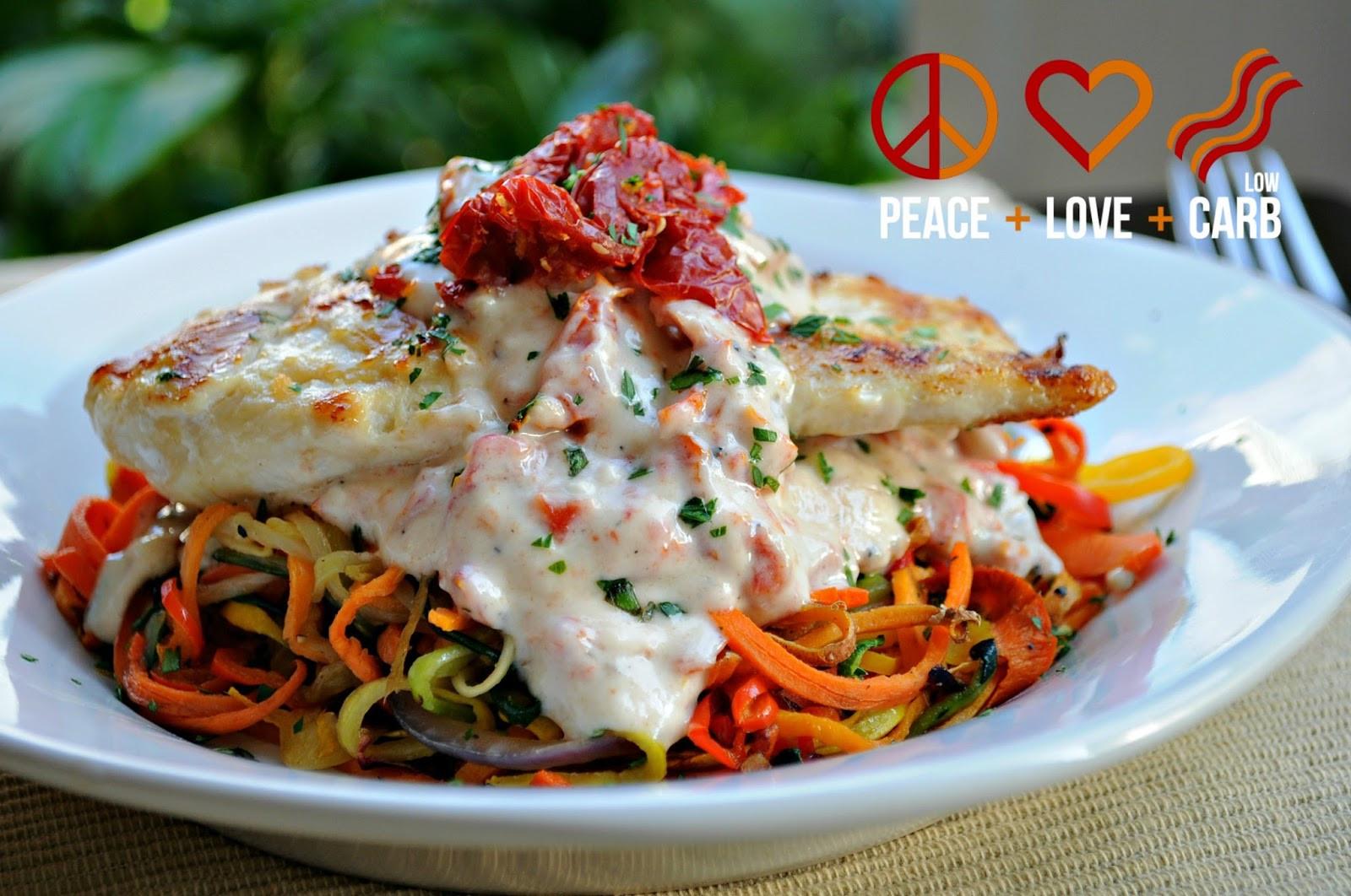 Low Carb Vegetables Recipes  Rainbow Ve able Noodles