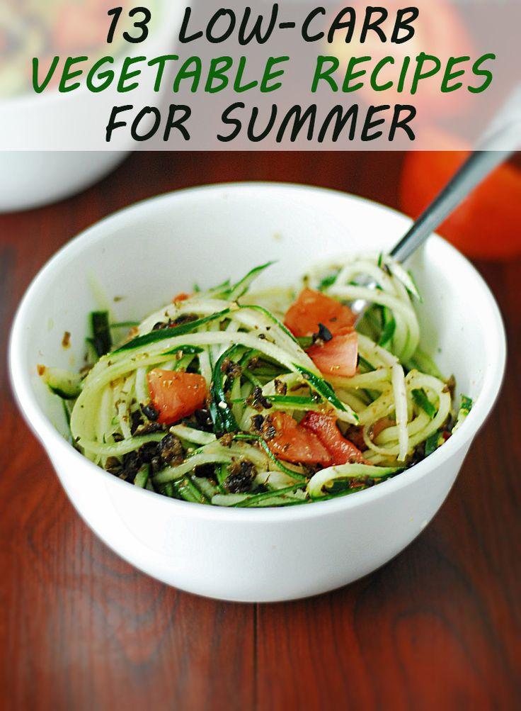 Low Carb Veggie Recipes  13 Low Carb Ve able Recipes
