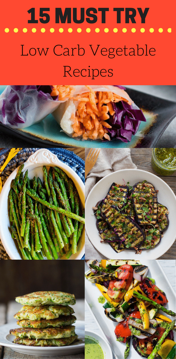 Low Carb Veggie Recipes  15 MUST TRY Low Carb ve able recipes