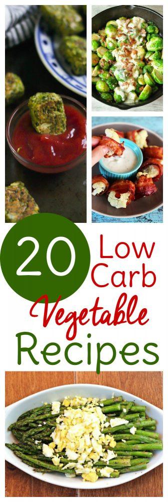 Low Carb Veggie Recipes  20 Low Carb Veggie Recipes Sweet T Makes Three