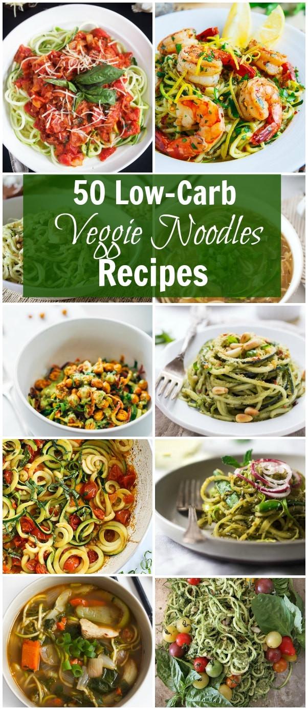 Low Carb Veggie Recipes  50 Low Carb Veggies Noodle Recipes Primavera Kitchen