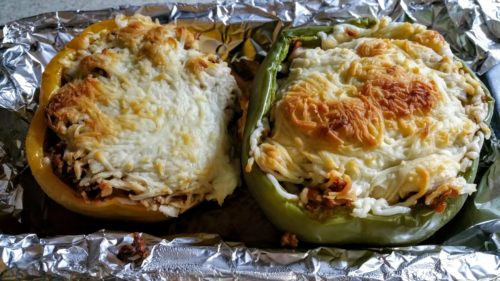 Low Carb Veggie Recipes  Low Carb Ve arian Stuffed Peppers