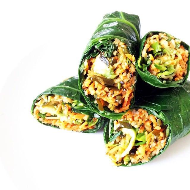Low Carb Veggie Recipes  Low Carb Veggie Wrap Recipes