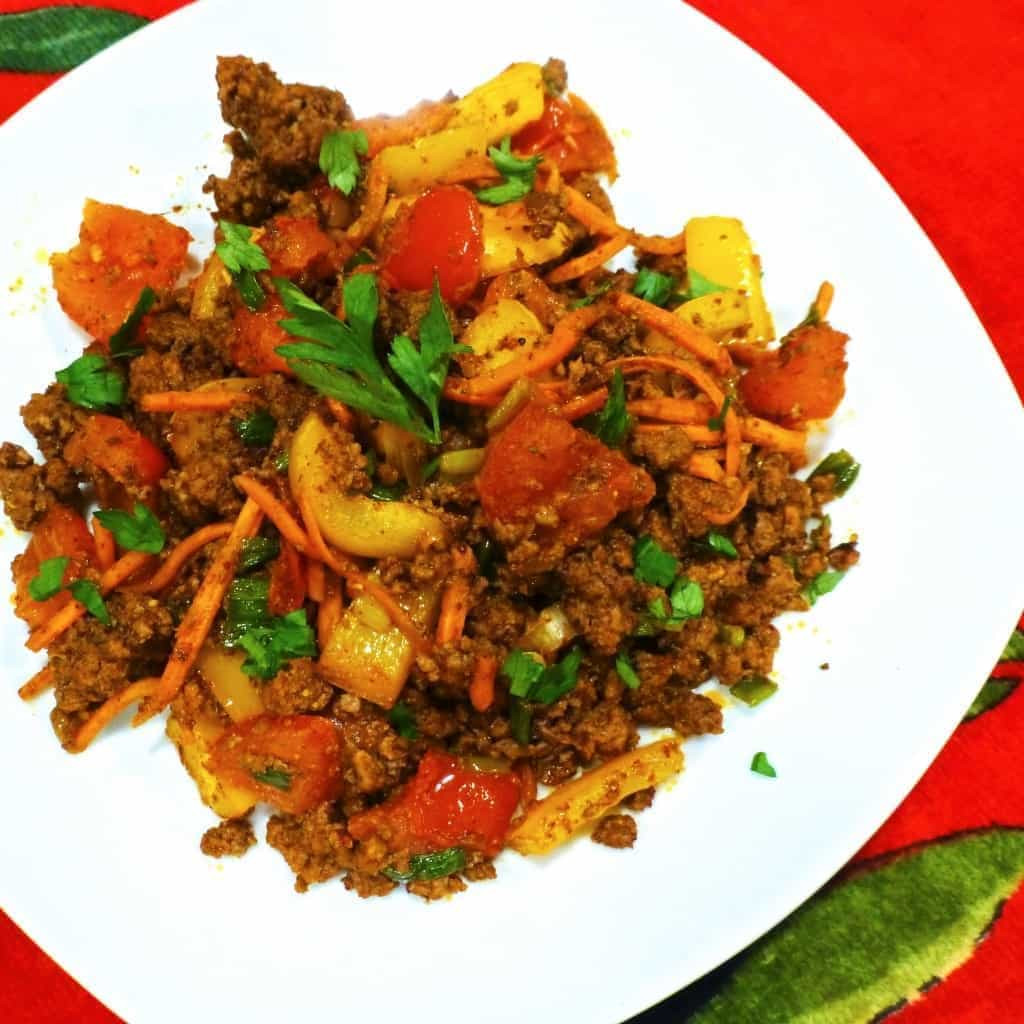 Low Carb Venison Recipes  Beef Taco Skillet Recipe with Veggies Paleo Low Carb