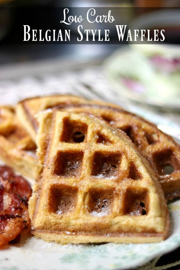 Low Carb Waffles Recipe  Low Carb Waffles Recipe Crispy Belgian Style lowcarb ology