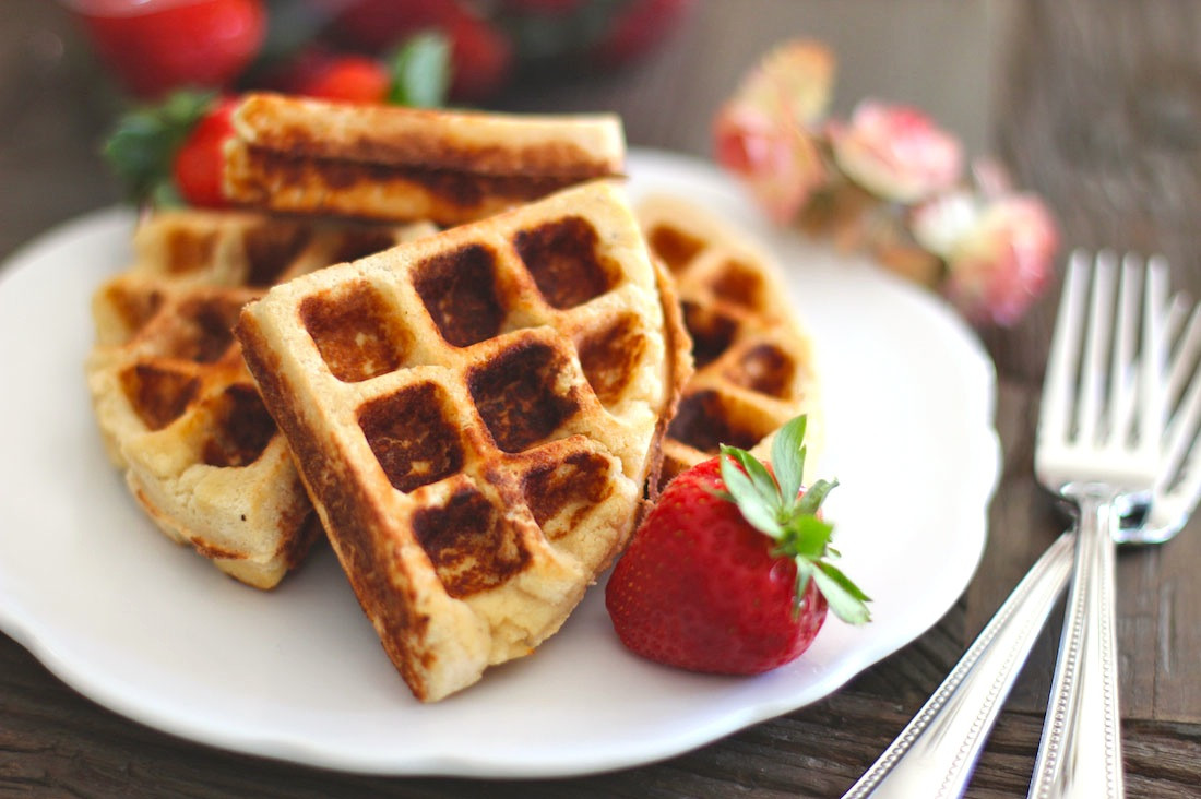 Low Carb Waffles Recipe  Healthy Gluten Free Waffles Recipe Low Carb