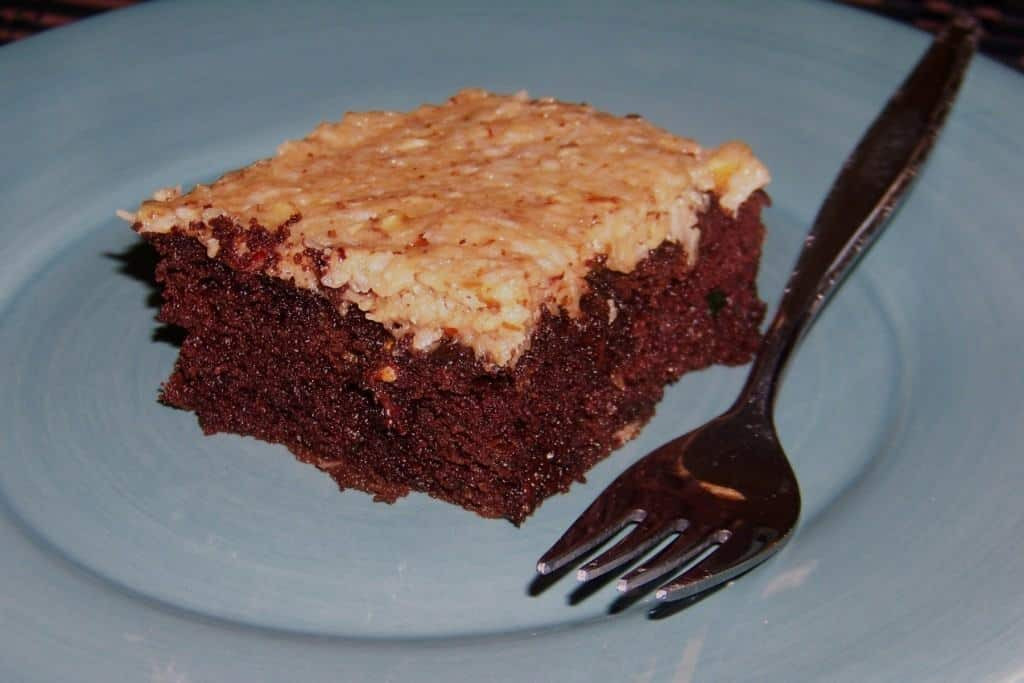 Low Carb Zucchini Cake  German Chocolate Zucchini Cake