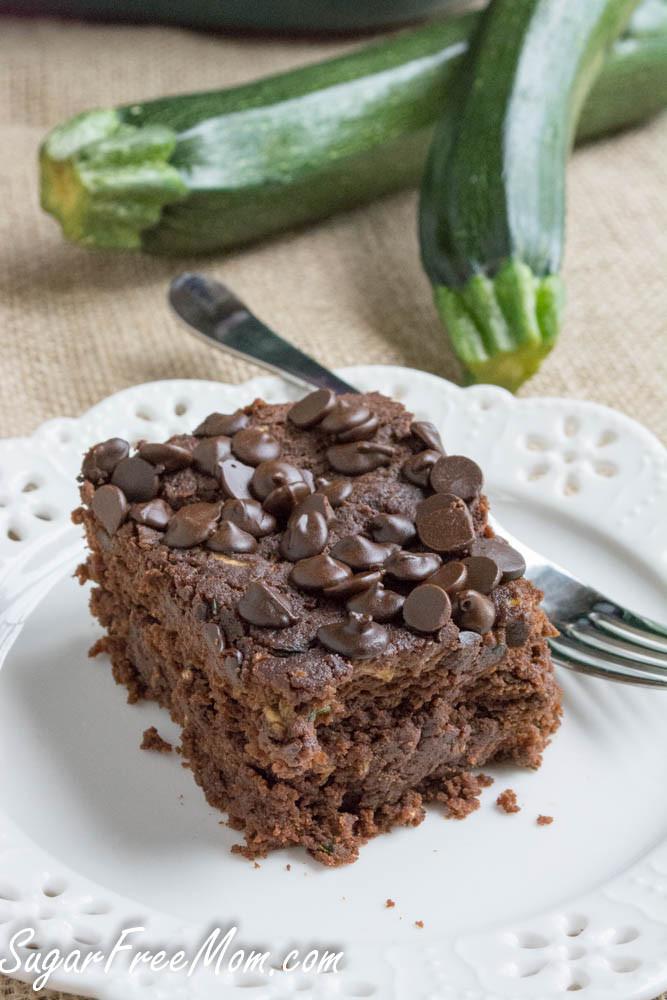 Low Carb Zucchini Cake  low carb chocolate zucchini cake