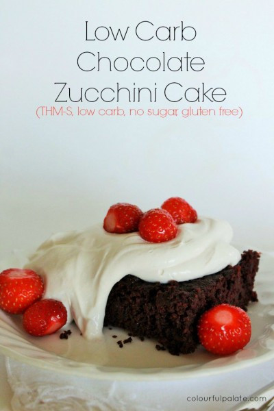Low Carb Zucchini Cake  Low Carb Zucchini Cake — Colourful Palate