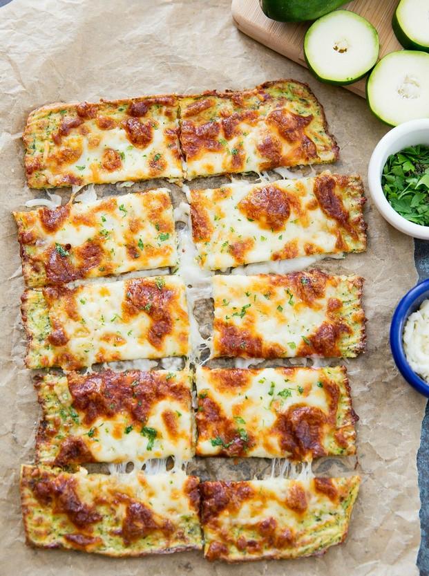 Low Carb Zucchini Cheese Bread  Zucchini Breadsticks Kirbie s Cravings