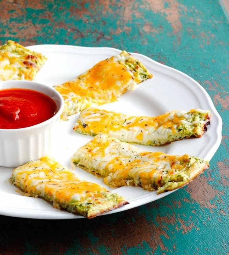 Low Carb Zucchini Cheese Bread  Cheesy Zucchini Breadsticks Smile Sandwich