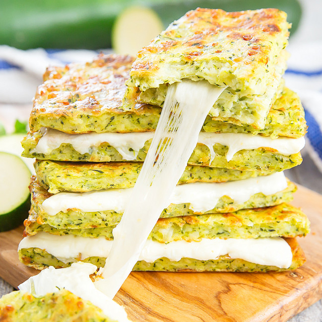 Low Carb Zucchini Cheese Bread  Zucchini Crusted Grilled Cheese Sandwiches Kirbie s Cravings