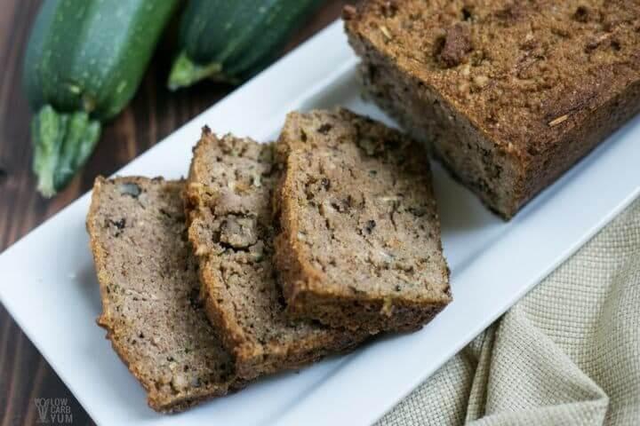 Low Carb Zucchini Cheese Bread  31 Easy Keto Zucchini Recipes
