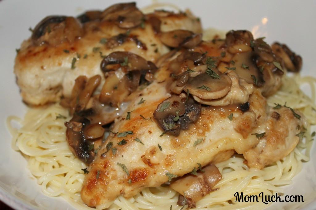 Low Cholesterol Chicken Breast Recipes  Guilt Free Chicken Marsala Mom Luck