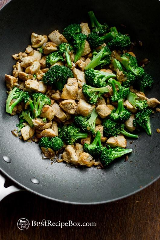 Low Cholesterol Chicken Breast Recipes  Healthy Chicken Breast & Broccoli Stir Fry Recipe